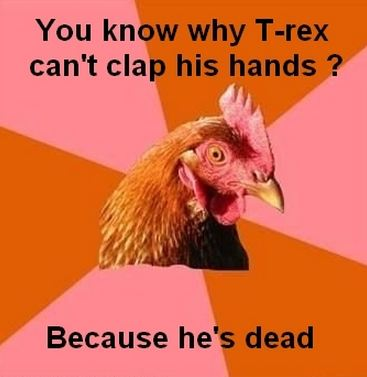 Joke about t-rex