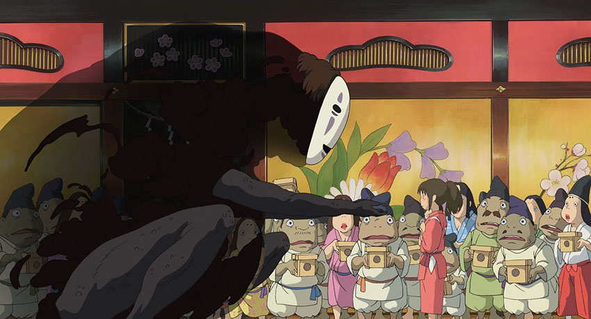 Spirited Away screenshot